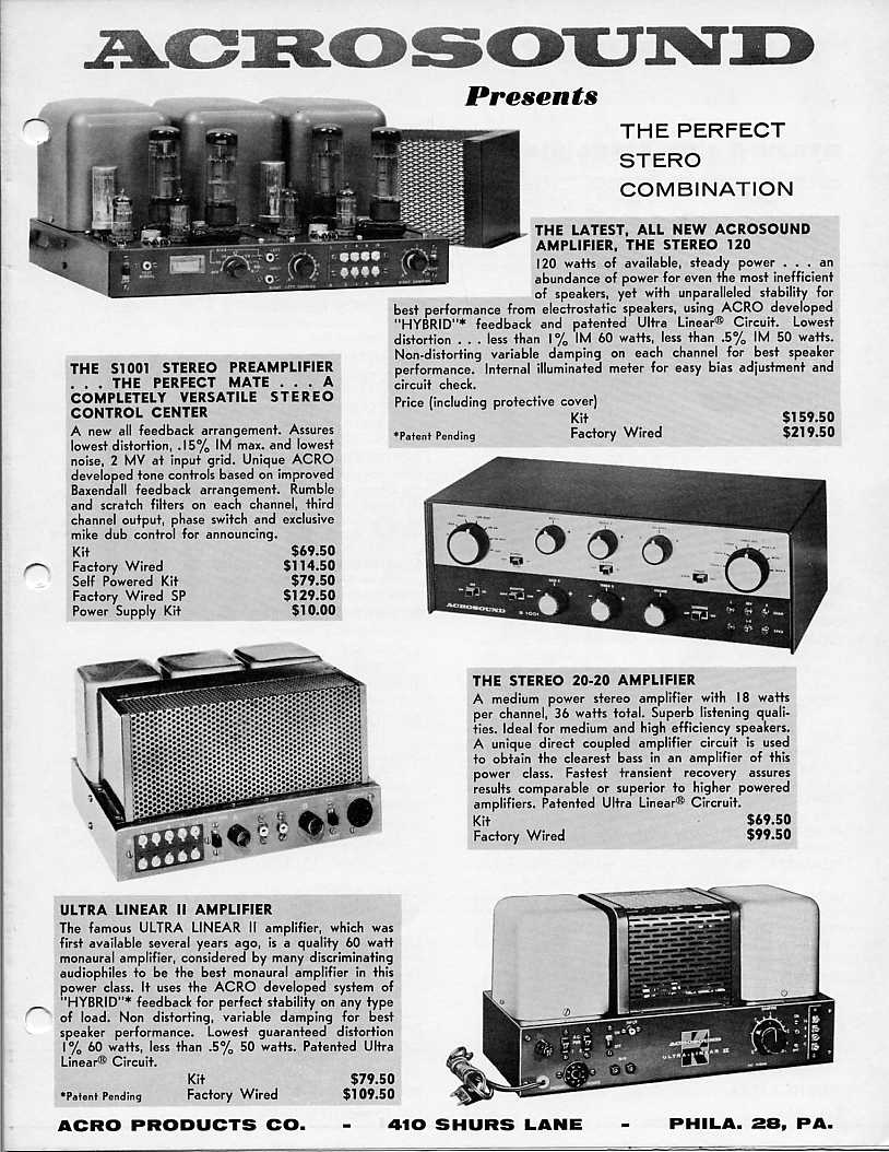 totl vintage tube systems 50 60 s page 5 audiokarma home 3 Watt Amplifier img